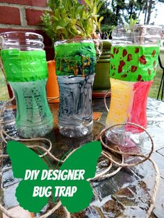 DIY Designer Bug Trap. Get rid of bugs naturally - from Simple Life Mom