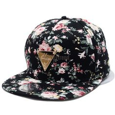 4515bafca37 Infgreate Clearance Sale Stylish Warm Hat Unisex Floral Print Snapback  Hip-Hop Hat Flat Peaked Adjustable Baseball Cap – Caps   Hats for Everyone