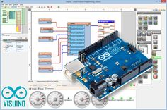 Just released Visuino Beta 22: http://www.visuino.com  Contains further packaged serial communication improvements. #Visuino   #Arduino