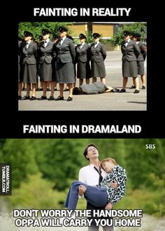 Puhahaha reality vs. dramaland. Its Okay its Love