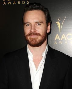 Michael Fassbender...  One of the few people who can rock a beard! (But I still prefer him clean shaven!)