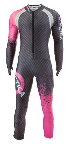 Arctica Cup GS Speed Suit Pink. High quality. Good looking. FIS approved. $300 adult/$250 youth.