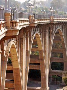 """Colorado Street Bridge, Pasadena (aka """"Suicide Bridge"""")"""
