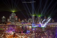 This would either be River Fire Festival or New Years Fireworks. Things To Do In Brisbane, Australia Travel, Queensland Australia, Fire Festival, New Year Fireworks, Local Festivals, What A Wonderful World, City Streets, City Lights
