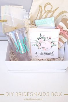 Ask Your Bridesmaids To Be A Part Of Special Day With This Diy