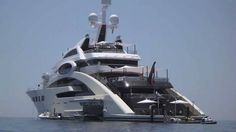 We enjoy playtime on Super Yacht Ace