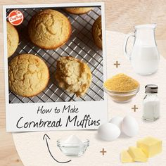 Quick-and-Easy (Really!) Cornbread Muffins Recipe from Southern Chef Virginia Willis