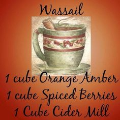 """Order the new Fall/Winter 2014 scents to make these great new """"recipes""""  www.bammer.scentsy.us  (Shared from my Scentsy Sponsor)"""