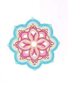 Mandala+Mandala, - paličkovaná krajka, bobbin lace, autor: Lenka Maslova Spetlova, Hostinné, Atelier ROS ZEFYRA s.r.o.