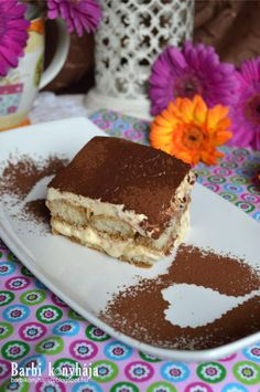 Barbi konyhája: Az igazi Tiramisu, ami nem nélkülözheti a tojást! Tiramisu, Deserts, Barbie, Sweets, Ethnic Recipes, Food, Drinks, Drinking, Beverages