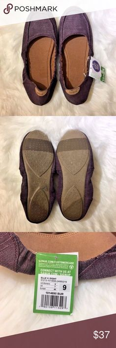 Sanuk Elle V. Eight Ballet Flats Burgundy Red NEW Sanuk Elle V. Eight Ballet Flats Burgundy Red Size 9 NEW Authentic. These are new with tags not box. A68 Sanuk Shoes Flats & Loafers