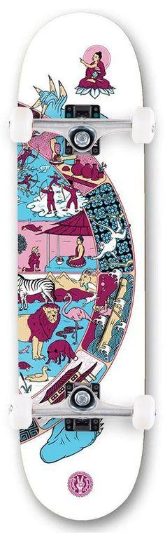 Fracture Complete Mini Skateboard Comic Series 3