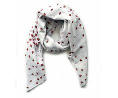 Ladybug scarf