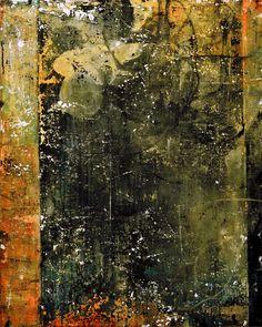 "Bill Gingles, Firmament, 2014, acrylic on canvas, 24""x 20"" www.billgingles.net"