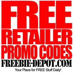 FREE Retailer Promo Codes & Cash Back Offers