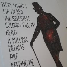 The Greatest Showman. A Million Dreams. Celestial Watercolour Print in Song Memes, Lyric Quotes, Lyrics, Narnia, Jordan Quotes, Disney Movie Quotes, The Greatest Showman, Tumblr Quotes, Sweet Words