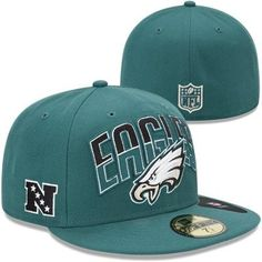 New Era Philadelphia Eagles 2013 NFL Draft 59FIFTY Fitted Hat - Midnight  Green Eagles Gear 53b94d8a9fb8