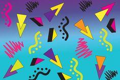 Znalezione obrazy dla zapytania 80s design patterns