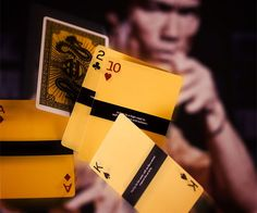 The Jokers are no Joke is this set of Bruce Lee playing cards! ● CoolShitiBuy.com