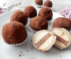Marcipánové brambůrky Czech Desserts, Czech Recipes, Sweet Cakes, Desert Recipes, Toffee, Christmas Cookies, Sweet Recipes, Yummy Treats, Deserts
