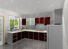 Kleine L Förmige Küche Design | Mehr Auf Unserer Website | #Küche