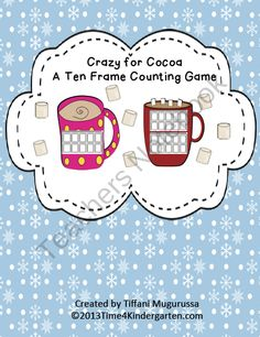 Crazy for Cocoa product from Time-4-Kindergarten on TeachersNotebook.com