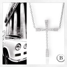 La Dolce Vita..Cross Pendant with diamonds  service@britaradiamonds.com Cross Pendant, Fine Jewelry, Diamonds, Photo And Video, Instagram, Diamond, Jewelry