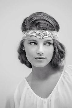 Bridal headband by Gadegaard Design,  Photocredit: www.tinaliv.com