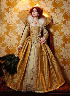Elizabethan Golden Gown