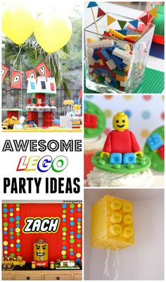 12+ Fantastic Ideas for a Lego Party