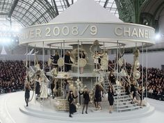 Runway carousel by Chanel in Fall 2008.