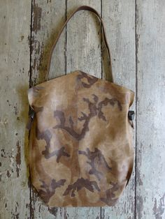 Specialty Dry Goods: Camouflage Mail Bag - only one of its kind