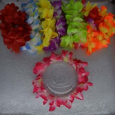 Event & Party Festive & Party Supplies Reasonable Women Girl Light Up Hawaii Luau Party Led Glow Flower Lei Necklace Hula Garland Wreath Fancy Dress Party Supplies Wedding