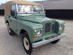 Land Rover® Series 2a *Tax Exempt Crossover Ragtop* (OKU) For Sale (1970)