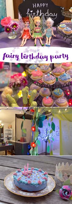 Fairy Themed Birthday Party Celebration - Mommy Scene