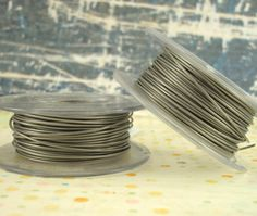 This aluminum wire is the same wire that I use to make my high quality jewelry findings. It is durable and perfect for wire wrapping, making
