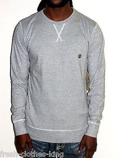 Element Shirt New Mens Gray Washed Crew Neck Tee Choose Size
