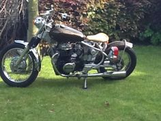 Find This Pin And More On Cb450 Bobber By Bert Mobertz