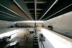 Amazing underground garage