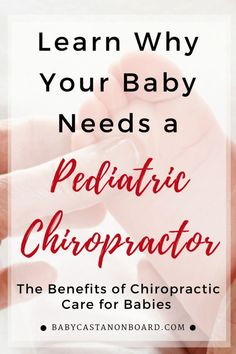 Why Your Baby Needs a Pediatric Chiropractor Benefits Of Chiropractic Care, Chiropractic Clinic, Chiropractic Wellness, Family Chiropractic, Mom Advice, Parenting Advice, Pediatric Chiropractor, Conscious Parenting, Baby Massage