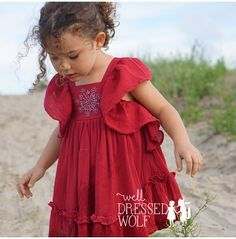 well dressed wolf ana sparkler red 4t Well Dressed Kids, Well Dressed Wolf, Little Fashionista, Nice Dresses, Girls Dresses, Flower Girl Dresses, Baby Dresses, Lily Grace, Kid Styles