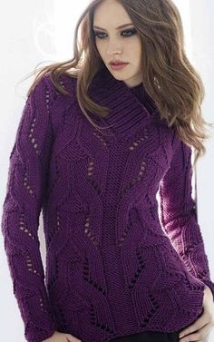 "Knitting - Free Pattern: ""Woman"" - Level: intermediate.  Language RU."