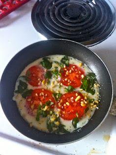 Caprese Egg White Omelette