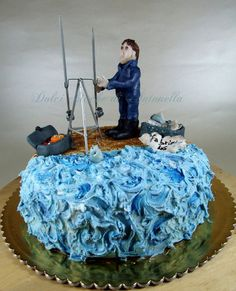 Surfcasting cake Cake by DolciChicche