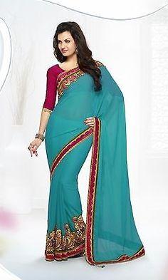 U Bridal Saree Party Wedding 8122 Stylist Ethnic Indian Traditional Heavy Sari