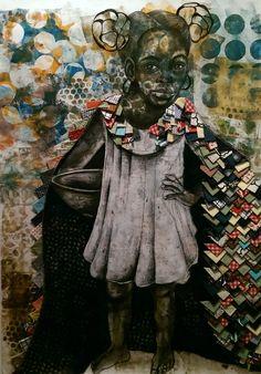 Works by Delita Martin Pinchback Black Female Artists, Black Arts Movement, Kara Walker, Types Of Art, Type Art, Paintings Famous, African Diaspora, Mixed Media Collage, Medium Art