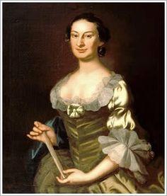 Elizabeth Harrison Randolph 1755 John Wollaston, wife of Peyton Randolph