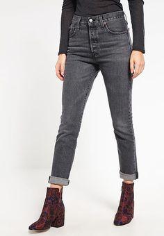 Skinny Levi s® 501 SKINNY - Jeans Skinny - black denim gris  109,00. Zalando  Shop 6ba30b8b8e4