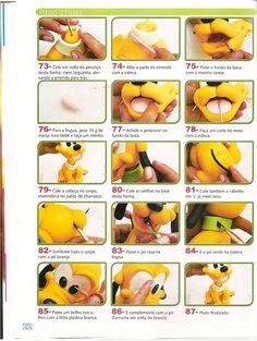 Tartas, Galletas Decoradas y Cupcakes: Miska Mouska Mickey Mouse! Baby Mickey Cake, Mickey Mouse Cake, Disney Babys, Baby Disney, Pluto Disney, Biscuits, Pie Decoration, Chocolate Diy, Icing Techniques