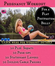 If you don't want to end up with a Pooch after delivery, you have to do pregnancy core/ab exercises like this throughout your entire pregnancy. These pregnancy core exercises are super safe and can be done from home.  http://michellemariefit.publishpath.com/pregnancy-workout-for-a-flat-post-partum-belly